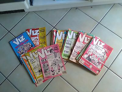 VIZ - ISSUES 33 TO 59. COMICS and two specials fat slags Roger mellie etc