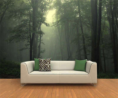 Slightly Dark Forest 3D Full Wall Mural Photo Wallpaper Printing Home Kids Decor