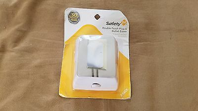 Safety 1st Double Touch Plug & Outlet Cover (2-pack)