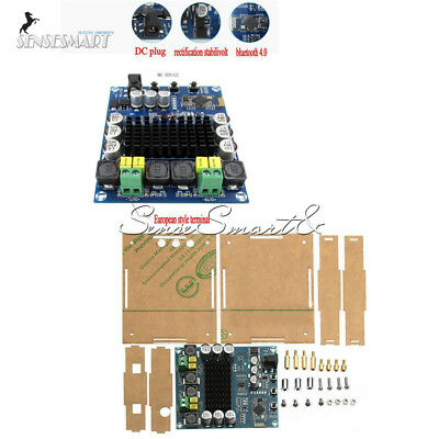 TPA3116D2 Bluetooth 4.0  2X120W Audio Receiver Digital Amplifier Board Case