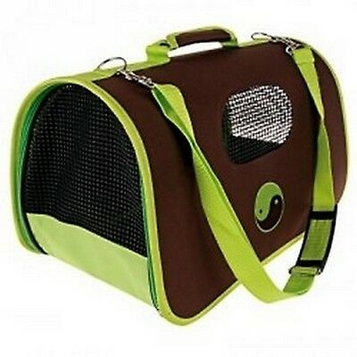 Panier Transport Pour Chat Zolux Ying Yang Vert Gm