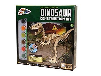 Build and Paint Your Own Dinosaur Construction Kit