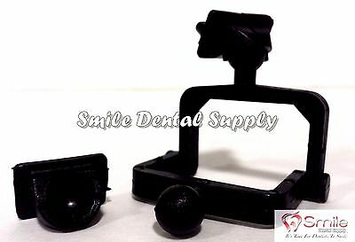 Dental Lab Disposable  Plastic Articulator 100 Sets, Black- #604