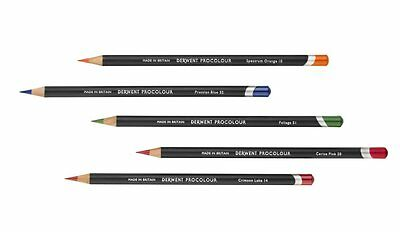 Derwent Procolour Professional Artists Colouring Pencils - 72 Colours Available
