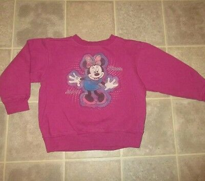 Minnie mouse  5 6 sweatshirt pullover