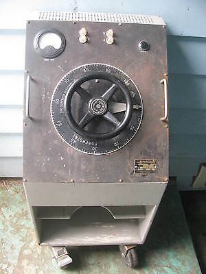 Variac Powerstat type 1156B variable autoformer power control