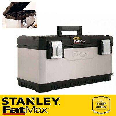 Stanley 1-95-616 Toolbox FatMax 23 Inch Tool Box - Heavy Metal Latches STA195616