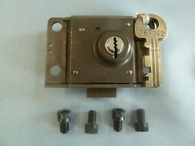 Western Electric 30A 3 Slot Payphone Lock w/1 Key AT&T 30 A Single Slot Payphone