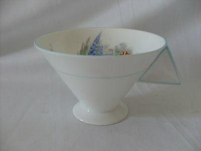 Vintage Shelley Vogue Mode Teacup Tea Cup Only Rd 756538 Delphiniums Stream