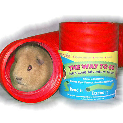 SnuggleSafe Way to Go Fun Tunnel for ferrets, guinea pigs & other small animals