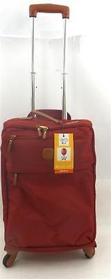 Brics X-Bag X-Travel S Carry On Spinner Suitcase Red