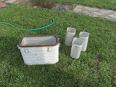 us army hot/ cold food carrier