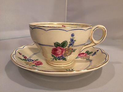 Grindley England Creampetal Teacup and Saucer