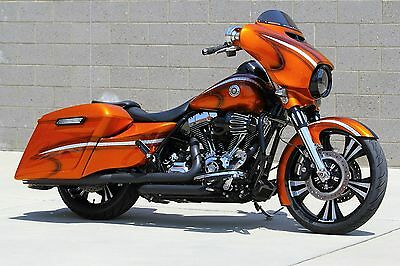 2015 Harley-Davidson Touring  2015 Harley Davidson Street Glide Special - Fully Custom - Candy Tangerine Paint
