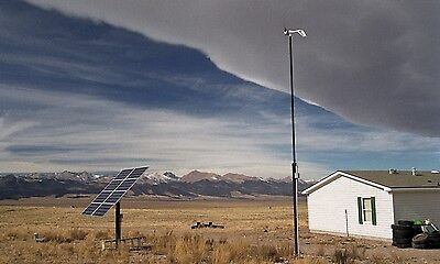 250W Off Grid Solar PV Complete Storage Kit System Self Sufficient DIY