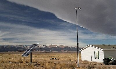 500W Off Grid Solar PV Complete Storage Kit System Self Sufficient DIY