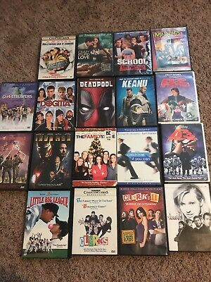 Movie DVD Lot Comedies