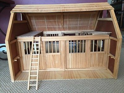 LARGE WOODEN GRAND HORSE STABLE - Local Pick up San Diego