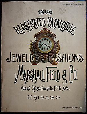 Marshall Fields & Co 1896 Catalog Reprint edited by Schroeder, silver glass etc