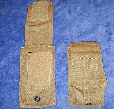 (Set-2) EAGLE USMC Coyote Multi-Use Pouch, Universal Mag / Ammo / 7.62x54r EXC!!