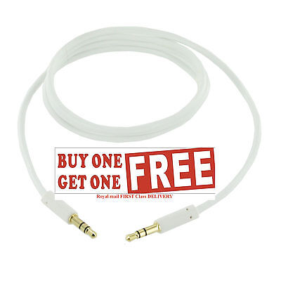 New 1m 3.5mm Universal Jack Plug Aux Cable Audio Lead For to Headphone MP3 iPod