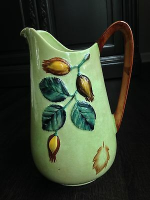 Carlton Ware Hand Painted Pitcher - Made In England Australian Design