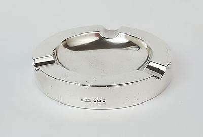 Art Deco STERLING SILVER Filled ASHTRAY London 1929