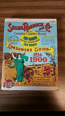 Sears, Roebuck and Co. Miniature Reproduction of Fall 1900 Catalog 1970