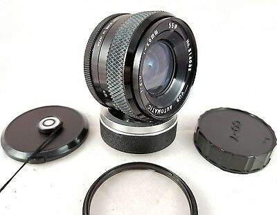 Vintage YUS YASHICA 28mm f2.8 Automatic Lens. Made in Japan