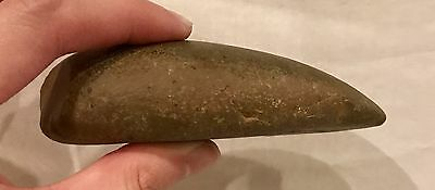 SCARCE Authentic Paleolithic Era Stone Gouge, Ancient Tool, Private Collection