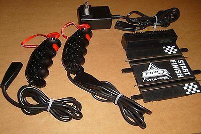 Carrera Go 1/43 Cars power track, controllers and power pack - exc condition