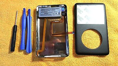 iPod classic 7th 160GB Black back cover front case Rebuild kit