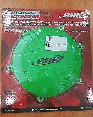 RHK Kawasaki KX450F 16-17 Green Clutch Cover