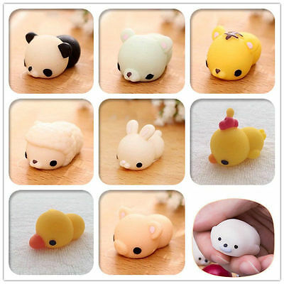 Cute 10/20/30PCS Random Squishy Slow Rising fidget Kawaii Cute Animal Hand Toy