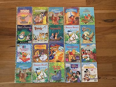 Little Golden Books Bulk Of 20 Disney Collection