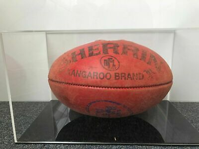 AFL Football Deluxe Acrylic Perspex Display Case Signed Memorabilia Free Postage