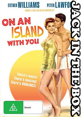 On An Island With You  DVD NEW, FREE POSTAGE WITHIN AUSTRALIA REGION ALL
