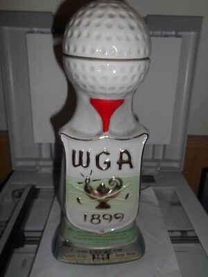 1971 Western Open Golf Tournament Jim Beam Decanter OLYMPIA  NICKLAUS PALMER