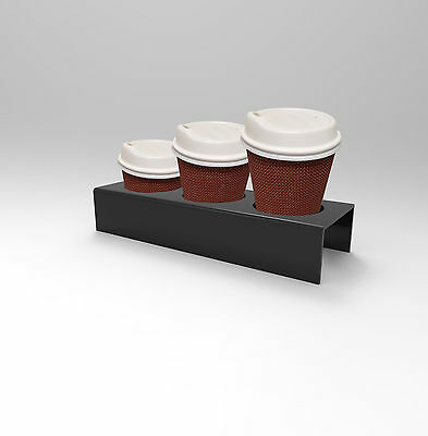 Coffee Cup Acrylic Display Holder - Cafes, Bakeries, Food Outlets