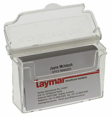 Taymar, Outdoor Business Card Holder, Weather resistant, Wall Mountable - OD95