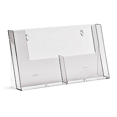 Taymar A5, Counter Standing Double Pocket Portrait Brochure Holder - 2C155
