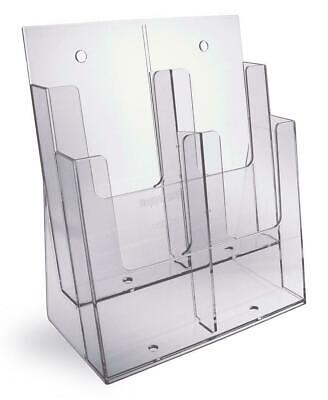 Taymar DL, 4 Pocket (Tiered) Brochure Holder - 2C230-D2
