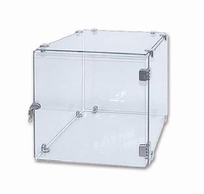 Cube Glass Display Case Unit-5mm Tempered Glass- 400 x 400 X 400 mm - Cube