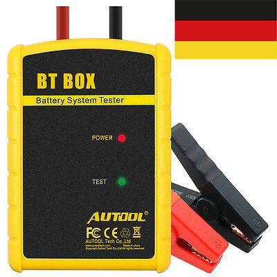 Autool BT BOX 12V Car Battery System Charging Bluetooth Tester For IOS Android