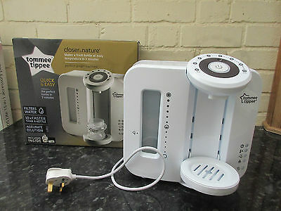 Tommee Tippee Closer to Nature Perfect Prep bottle mixing machine vgc
