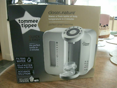 Tommee Tippee  Closer To Nature Baby Formula Perfect Prep Machine