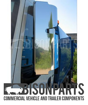 +Daf Lf45 (2006 - 2013) Stainless Steel Mirror Guards Rh & Lh (Pair) Bp116-223