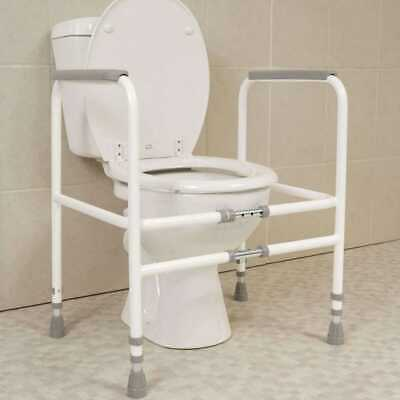NRS M00870 Mowbray Toilet Seat Frame Width Adjustable Mobility Disability Suppor