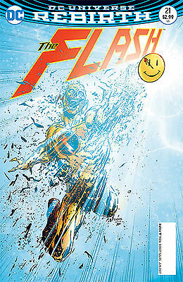 FLASH 21 3D Lenticular Cover Bagged & Boarded NM The Button Rare in UK DCRebirth