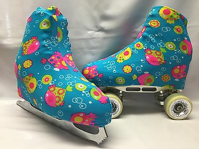 Fishies Boot Covers for RollerSkates and Ice Skates  S,M,L